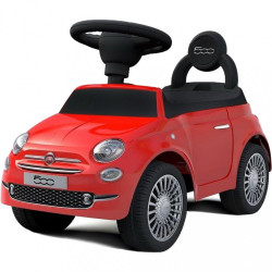 Odrážadlo Baby Mix FIAT 500 červené
