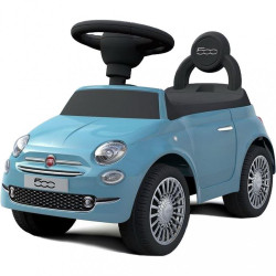Odrážadlo Baby Mix FIAT 500 modré