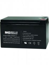 Pb akumulátor MHB VRLA AGM 12V/7Ah (MS7-12)-faston 6,3