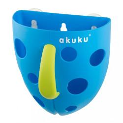 Plastový box na hračky do vane Akuku modrý