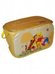 Praktický úložný box do detskej izbičky Disney Medvedík Pú Žltá