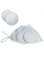 Prsné tampóny Avent - na viac použití 6 ks biela