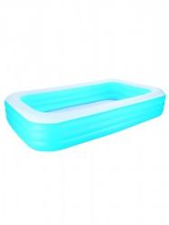 Rodinný nafukovací bazén Bestway svetlo modrá