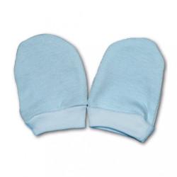 Rukavičky pre novorodenca modrá