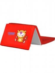 Skladacia matrac do postieľky CARETERO Tiger Červená
