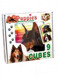Skladacie obrázkové kocky Puppies podľa obrázku