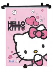 Slnečná roleta do auta Disney Hello Kitty ružová