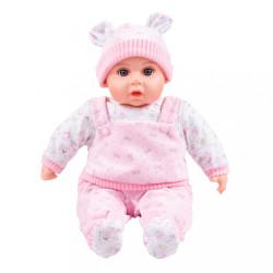 Slovensky hovoriaca a spievajúca detská bábika PlayTo Júlia 46 cm ružová #1
