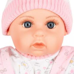 Slovensky hovoriaca a spievajúca detská bábika PlayTo Júlia 46 cm ružová #2