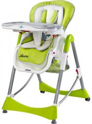 Stolička CARETERO Bistro green zelená