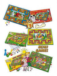 Stolná hra Mini Games Janko a Marienka zelená