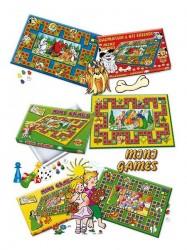 Stolná hra Mini Games Popoluška fialová