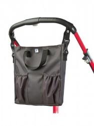 Taška na kočík CARETERO 2v1 graphite grafitová