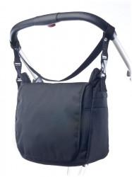 Taška na kočík CARETERO - black Čierna