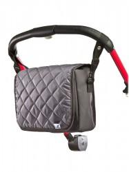 Taška na kočík CARETERO Carry-on graphite grafitová