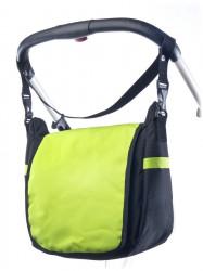 Taška na kočík CARETERO - green zelená