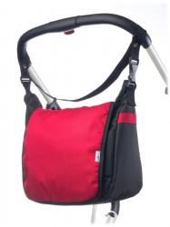 Taška na kočík CARETERO - red Červená