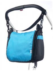 Taška na kočík CARETERO - turquoise tyrkysová