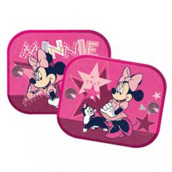 Tienidlá do auta 2 ks v balení Minnie Mouse ružová