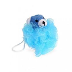 Umývacia kvetina Junior Calypso medvedík modrá