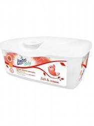 Vlhčené obrúsky Linteo Baby 72 ks Soft and cream BOX podľa obrázku