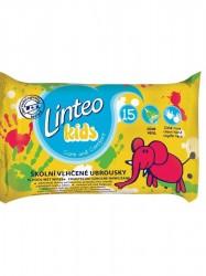Vlhčené obrúsky Linteo Baby Kids 15ks podľa obrázku