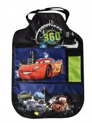 Vreckár do auta Disney Cars 40x60 cm Čierna