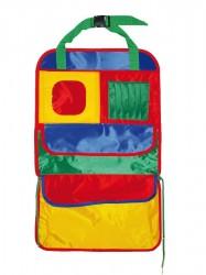 Vreckár do auta farebný 40x65 cm podľa obrázku