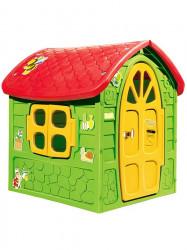 Záhradný domček pre deti zelená