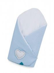 Zavinovačka Belisima Tri srdcia modrá