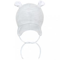 Zimná dojčenská čiapočka Baby Service Mouse svetlo