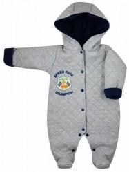 Zimná dojčenská kombinéza Koala Champion sivá