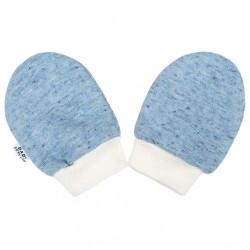 Zimné dojčenské rukavičky Baby Service Animals modré