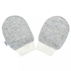 Zimné dojčenské rukavičky Baby Service Animals sivé