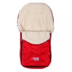 Zimný fusak New Baby Classic Wool red Červená
