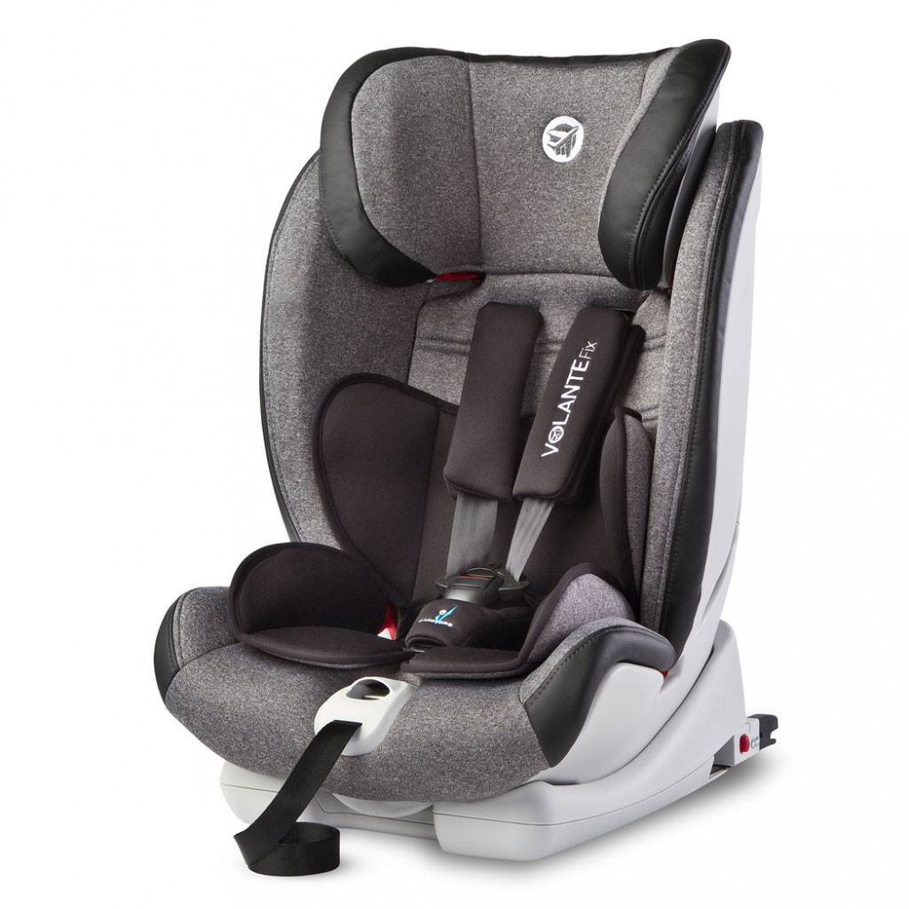 Autosedačka CARETERO Volante Fix Limited grey 2018 sivá