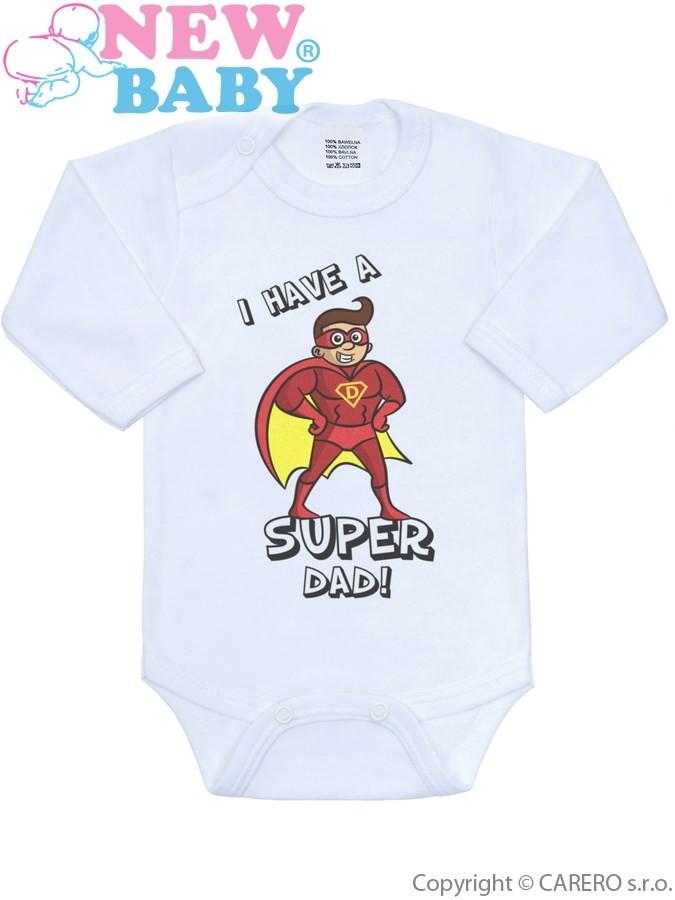 e6066d9e5d55 Body s potlačou New Baby SUPER FAMILY