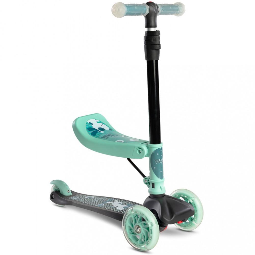 Detská kolobežka 2v1 Toyz Tixi mint zelená