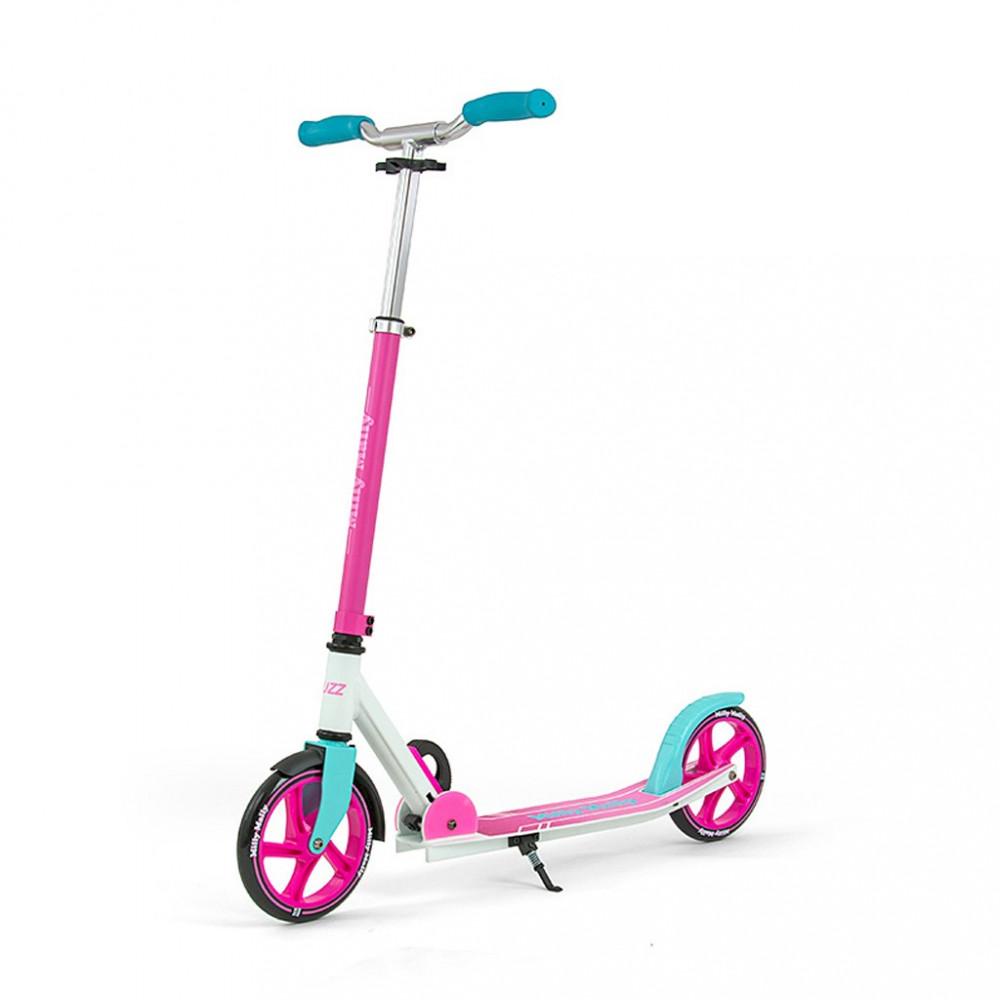 Detská kolobežka Milly Mally BUZZ Scooter pink ružová