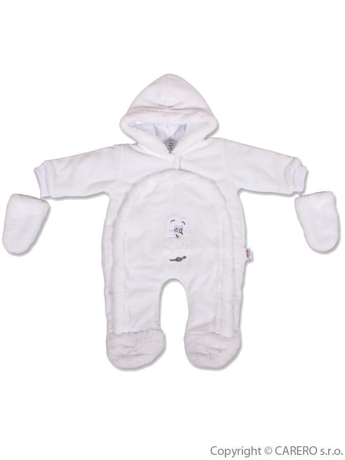 21d3adef5 Detská kombinéza New Baby ježko biela - Detské kombinézy - Locca.sk