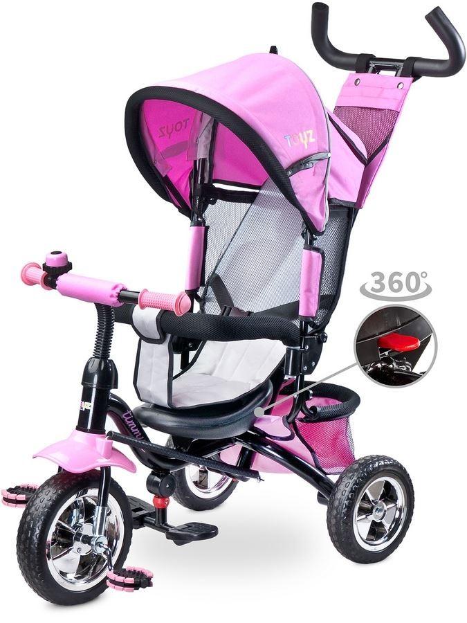 Detská trojkolka Toyz Timmy pink 2017 ružová