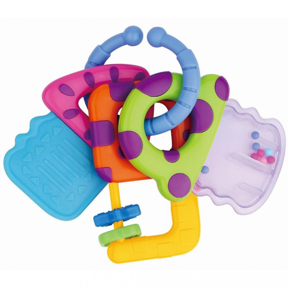 Detské hrkálka Baby Mix 3 kľúče podľa obrázku - Hrkálky - Locca.sk b7cfaf91156
