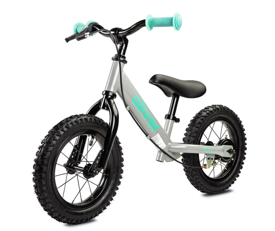 Detské odrážadlo bicykel Toyz Oliver grey sivá