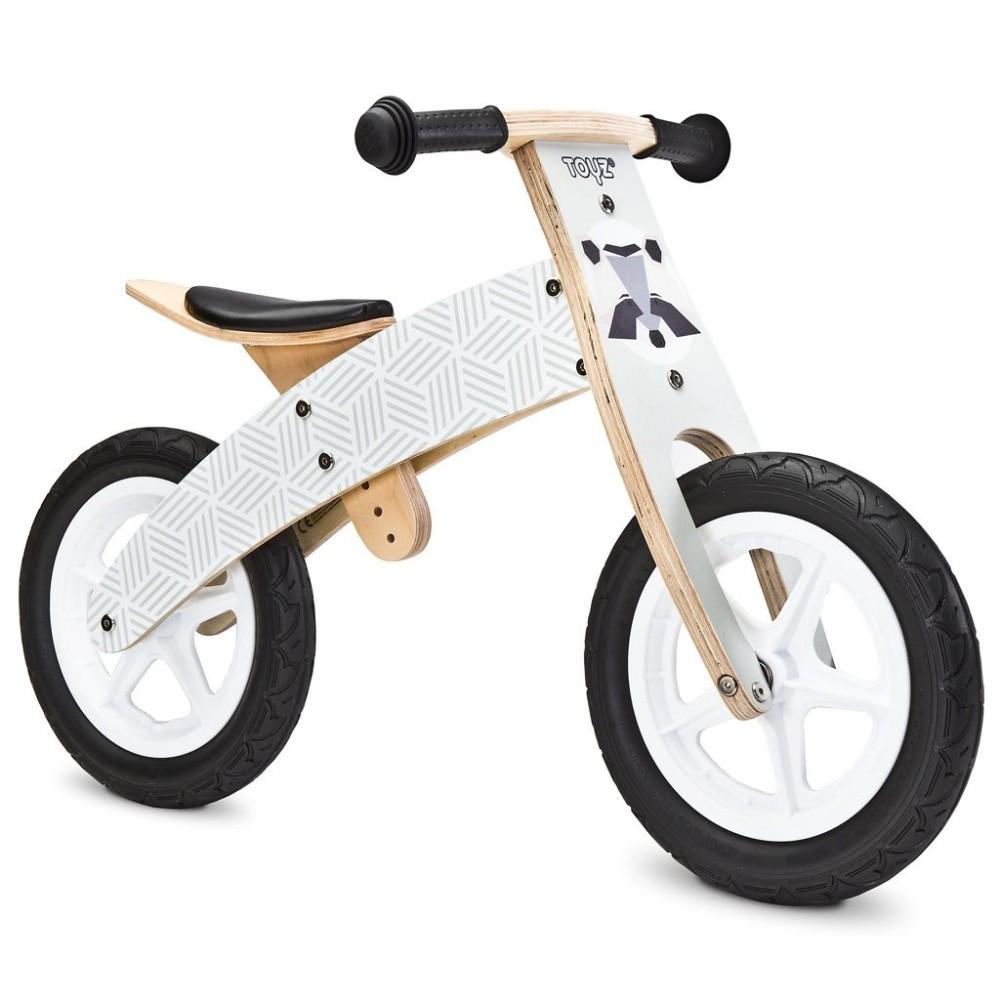 Detské odrážadlo bicykel Toyz  Woody grey sivá