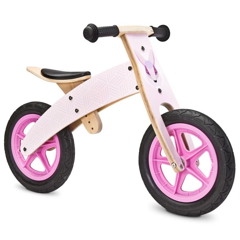 Detské odrážadlo bicykel Toyz  Woody pink ružová