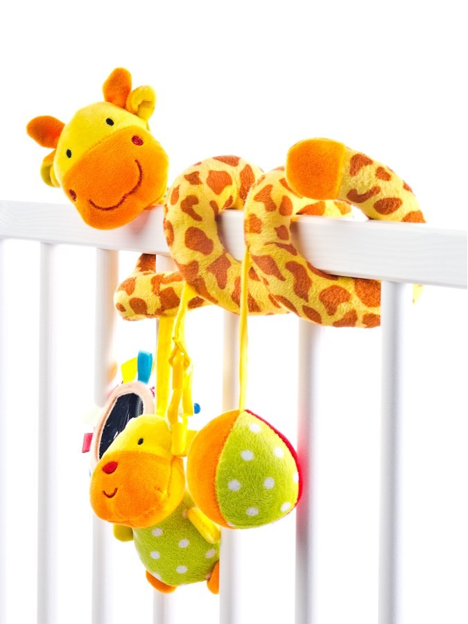 17540b8e6bb Hračka na postieľku špirála Sensillo Žirafa Žltá - Plyšové hračky ...