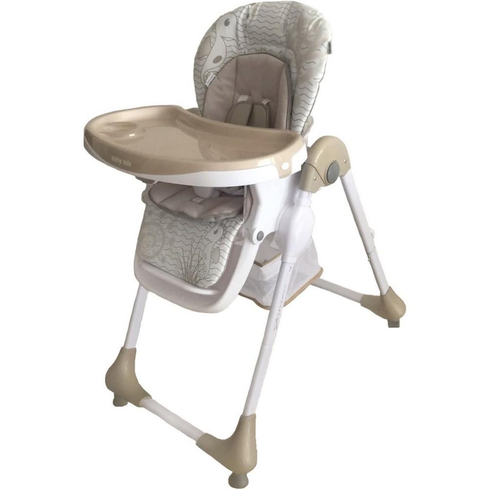 9ca141145a8d Jedálenská stolička Baby Mix Junior latte - Detské plastové stoličky ...