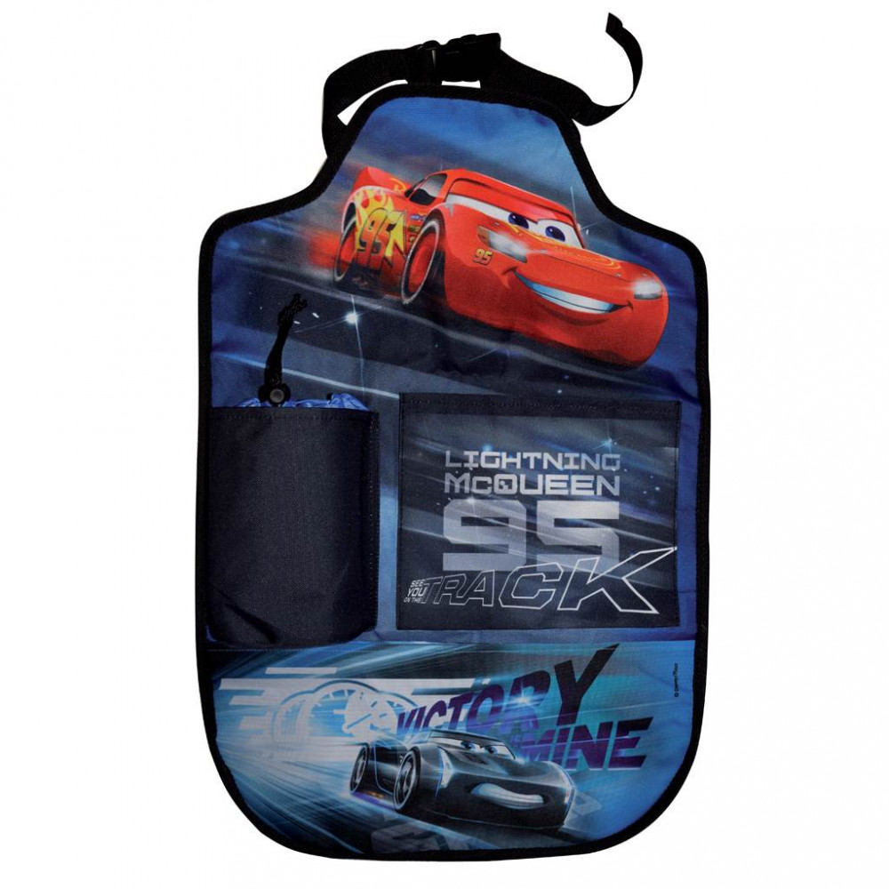 Vreckár do auta Disney Cars 2 40x60 cm Čierna
