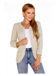 Béžový dámsky sveter Hetiena