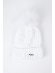 Biela dámska čiapka C1 #1